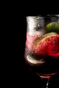 goosebery & lime drink