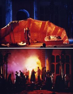 Norma. Opera Holland Park. Scenic design by Will Bowen. 2004