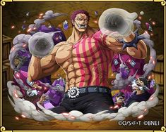 Katakuri new from treasure cruise One Piece Anime, One Piece Luffy, Manga Anime, Anime Art, Big Mom Pirates, One Piece Chapter, Charlotte, Animes Wallpapers, Op Art