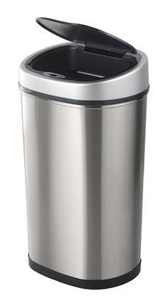 Easybin Exclusive,40 liter sensor afvalbak van RVS.