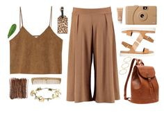"""tanned day"" by deandelaina on Polyvore featuring Goroke, J.Crew, eliurpi, ALDO, Sisley, Poketo, ASOS and Abyss & Habidecor"