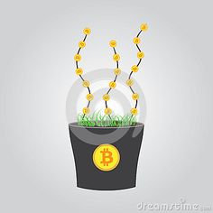 Bitcoin investment, enlarge.
