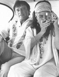 ELIZABETH TAYLOR (with Richard Burton)
