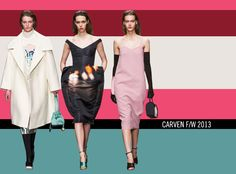 Carven, F/W 2013 - The Middle Dress