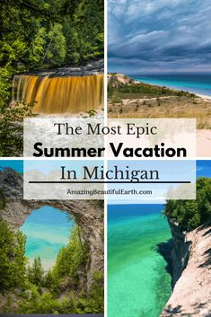 The Most Epic Summer Vacation In Michigan - The Amazing Beautiful Earth The Effective Pictures We Offer You About Beach Vacation style A quality picture can tell you many things. Manistee Michigan, Mackinac Island Michigan, Frankenmuth Michigan, Traverse City Michigan, Lakes In Michigan, Higgins Lake Michigan, Leland Michigan, Petoskey Michigan, Detroit Michigan