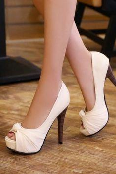 2300f28e953 Peep Toes Women Pumps Platform Stiletto Heel High Heels Shoes Woman   platformhighheelswhite Platform Stilettos