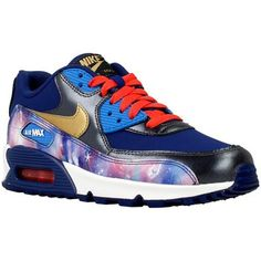 iconische Nike air max 90 prem ltr dames sneakers (Blauw)