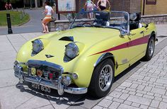 """""""New Look""""  for Austin Healey Sprite :-)))"""