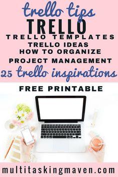 Digital Marketing Strategy, Content Marketing, Marketing Strategies, Media Marketing, Trello Templates, Entrepreneur, Project Management Templates, Good Time Management, Planner Tips