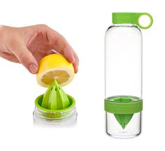 Para un refresco realmente natural. Exprimes y lo mezclas con agua y hielo :) |#gadgets #cocina #cool