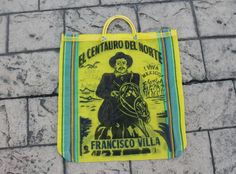 Pancho Villa Mexican Mesh All Purpose Tote Bag