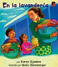En la lavandería Cover. Two Navajo children help their mom do the weekly wash at the laundromat. #BebopBooks