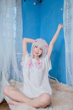 キャラ:和泉紗霧 cn:栗子KULI_ エロマンガ先生のTシャツが登場しました!!今の季節ちょうどいいね!