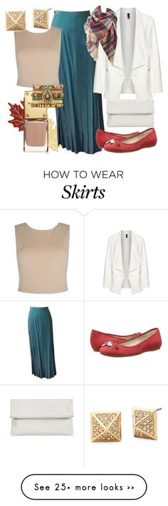 """""""Autumn Maxi Skirt Suit"""" by cindiawb on Polyvore featuring Heritage Lace, Whistles, Chanel, Manon Baptiste, BCBGeneration, Alice + Olivia and Samantha Wills"""