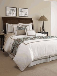 Elise Luxury Bedding Set: Chelsea Frank Concierge Collection, Hotel Bedding