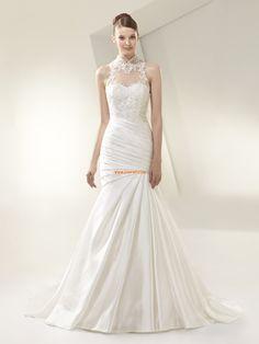 Trumpet/Mermaid Glamorous & Dramatic Natural Wedding Dresses 2014
