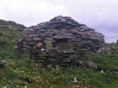 An ancient bothy on Sula Sgeir, an island so isolated that's often omitted from many maps of the United Kingdom. For some reason I'd like to go there someday.