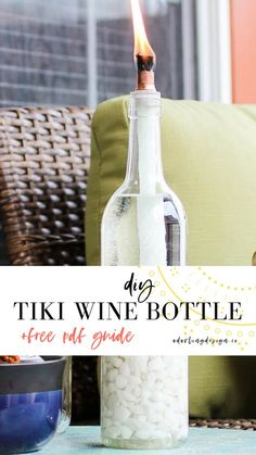 wine bottle crafts d