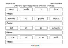 As 89 Melhores Imagens Em Formar Frases Preschool Classroom E Day