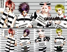 GIGAMOUS Visual Kei, Photo And Video, Movie Posters, Cards, Film Poster, Popcorn Posters, Maps, Playing Cards, Billboard