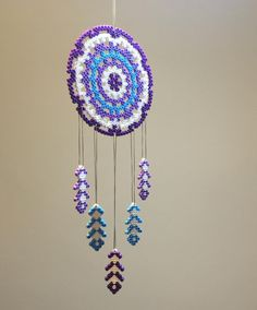 Dreamcatcher hama beads by gcdemirel