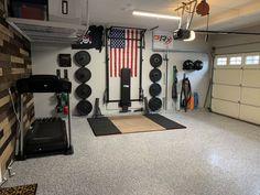 gym room at home - gym room _ gym room at home _ gym room ideas _ gym room at home small spaces _ gym room at home ideas _ gym room design _ gym room at home luxury _ gym room luxury Home Gym Basement, Home Gym Garage, Diy Home Gym, Gym Room At Home, Home Gym Decor, Best Home Gym, Garage House, Home Gyms, Crossfit Garage Gym