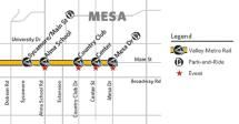 Your Guide to Phoenix Light Rail: Zoomable Map of Valley Metro Rail Stations