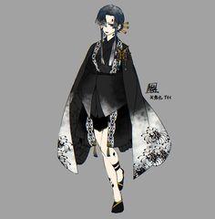 Anime Kimono, Kimono Animé, Demon Slayer, Slayer Anime, Anime Oc, Kawaii Anime, White Hair Anime Guy, Magical Girl Raising Project, Persona Anime