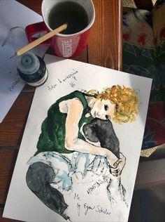 Me by Egon Schiele