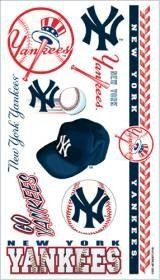 New York Yankees Temporary Tattoos Easily Removed With Household Rubbing Alcohol Or Baby Oil by CSY. $27.99. Each package includes one sheet of 10 tattoos.. New York Yankees Temporary Tattoos.. The tattoos are completely safe, non-toxic, hypo-allergenic, and all ingredients are FDA regulated . They last for days and can be easily removed with household rubbing alcohol or baby oil.. What a fun way to show your team spirit.. Made by WinCraft.