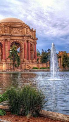 Palace Of Fine Arts, Theatre, San Francisco, California