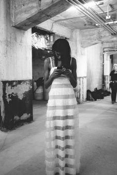 BACKSTAGE | Rosie Assoulin FW 2015.