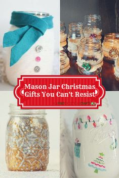 21 DIY Mason Jar Christmas Gifts You Can't Resist