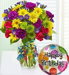 Flowers by 1800Flowers - It`s Your Day Bouquet Happy Birthday - Large (bestseller)
