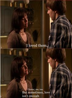 degrassi, sometimes love isn't enough.