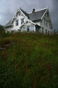 An old, Norwegian house. Sveitservilla