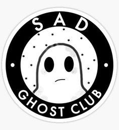 Sad ghost club Pegatina