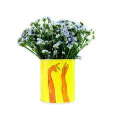 Hands   Seasonal flowers in handpainted pot Summer Flower Arrangements, Summer Flowers, Cut Flowers, Floral Arrangements, Museum Collection, Summer Collection, Benaki Museum, Seasonal Flowers, Red Roses