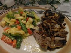 Ginny's Low Carb Kitchen: Steak, Salad and Blessings upon Blessings