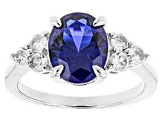 Have you seen the latest at JTV? Discover this gorgeous Pre-Owned Blue Lab Created Spinel Sterling Silver Ring Shop today to get a great deal! Blue Topaz Ring, Topaz Gemstone, White Topaz, Blue Gemstones, Broken Chain, Sterling Silver Rings, Jewelry Collection, Jewelry Sets, Lab