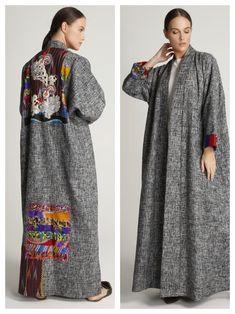 Discover thousands of images about Abaya Fashion, Kimono Fashion, Couture Fashion, Fashion Dresses, Boho Fashion Over 40, Ethnic Fashion, Mode Abaya, Abaya Designs, Urban Fashion Women