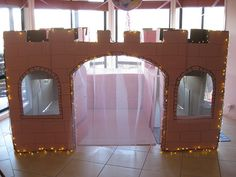 The castle was a hit at our daughter's 5th birthday princess party. We painted it pink, added netting for curtains and christmas lights. It was great for entertainment and children containment! We were a bit worried about rain & wind so we kept it inside. It was much larger than I expected but the kids loved it and don't want it to go. - Kelly H., Dapto, Australia