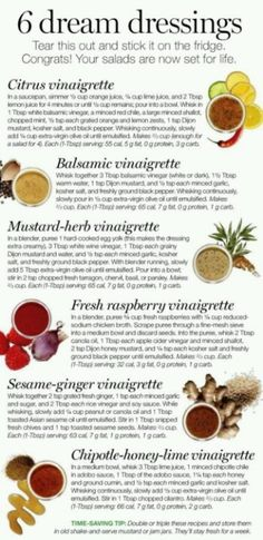By substituting Equal (or sweetener of your choice, IF any sweetener is called for in the recipe), these dressings can be made very low carb.