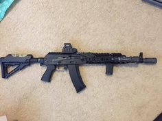 Military Weapons, Weapons Guns, Guns And Ammo, Big Guns, Cool Guns, Zombie Apocalypse Weapons, Battle Rifle, Assault Rifle, Shotgun