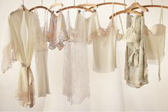Lingerie, perfect for a bridal night and more -- BHLDN's Line of Designer Lingerie - Classy & Sophisticated Styles #wow #style