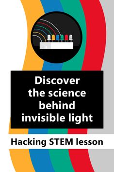 Ever wonder how invisible light turns into colors we can see? In this Hacking STEM activity, students will create their own spectrometers to learn about light frequencies, wavelengths, and the electromagnetic spectrum. Middle School Technology, Middle School Science, Stem Activities, Classroom Activities, Physical Education Standards, Stem Curriculum, Electromagnetic Spectrum, Student Engagement