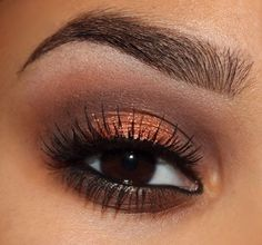 This is gorgeous for brown eyes !