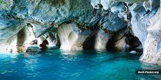 Von Puerto Rio Tranquilo kommst du per Boot zu den Marmorhöhlen im Lago General Carrera