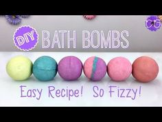 If you would like to learn how to make your own Bath Bombs then follow this simple DIY project for bath bombs tutorial. They are simple and easy and also rea...