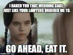 Funny. ..but I think people should have a sign in their place of business stating their preferences of what the will or won't do...I would have baked the cake because I believe in all peoples....if I could actually cook..lol